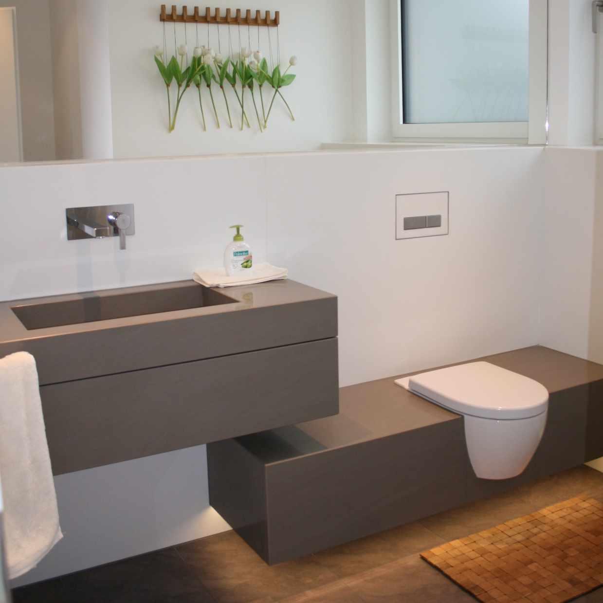 ein badezimmer von weeger natursteine - Natursteine Bad
